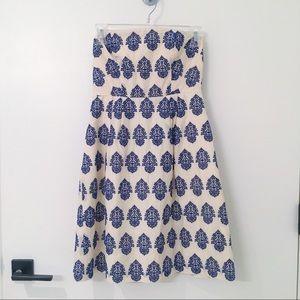 Strapless J. Crew Dress